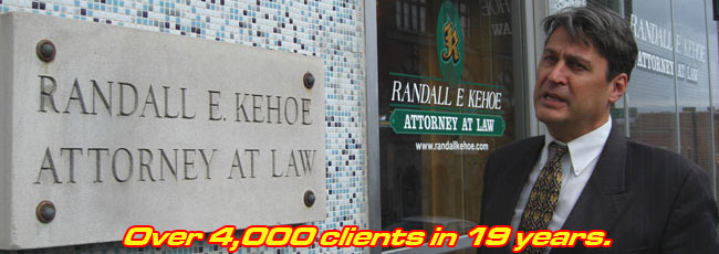 Albany $150 Traffic Lawyer - Randall Kehoe, Esq.